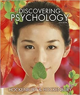 Discovering psychology sixth edition & study guide( hockenbury and.