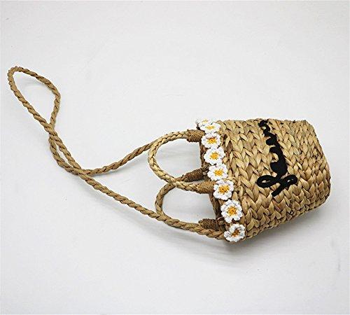 Plage Sac Femmes ANUAN De Handwoven Weave D'été De Sac Paille Handbags q4wzHxd5Rw