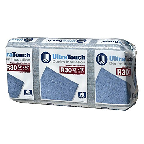23 in. x 48 in. R30 Denim Insulation (8-Bags) by UltraTouch