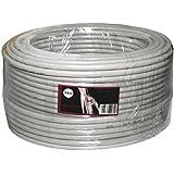 Cable de red CAT.6 50m ; S/FTP PIMF ; cable de instalación CAT6 ethernet