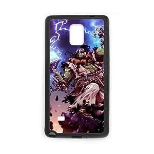 samsung_galaxy_note4 phone case Black Thrall World of Warcraft WOW TTD3731131