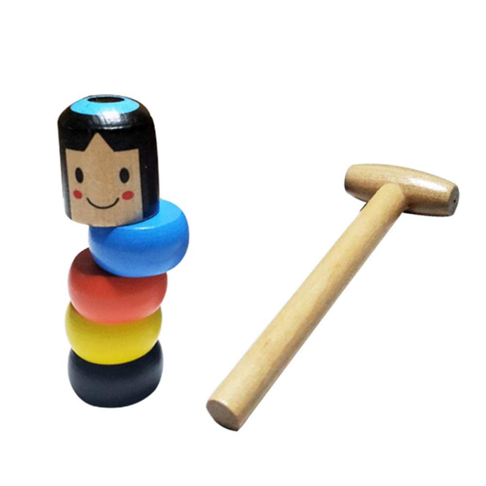 Holz Kreative Puppe Immortal Daruma Halloween Zaubertricks Lustige Spielzeug B/ühne Zauberrequisiten Anf/änger Magic Kit Kinder Geschenke /Magie Set