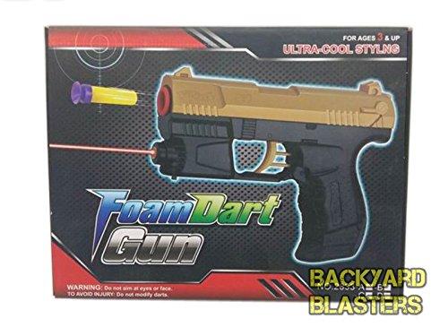 Backyard Blasters James Bond P99 Foam Dart Gun with Laser