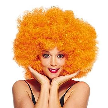 Aec aq04127 Peluca Super Afro Naranja, OS