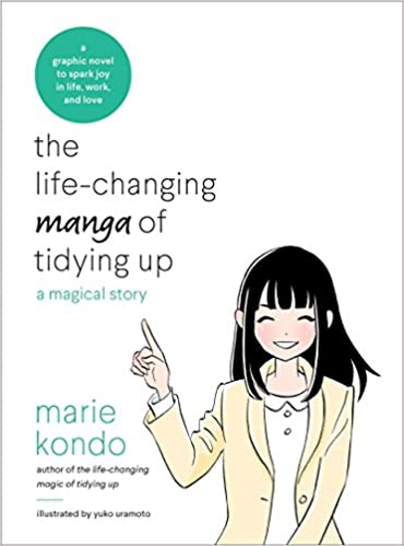 Image result for marie kondo books manga