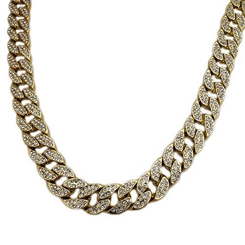 BLINGFACTORY Hip HOP Luxury Full ICED LAB Diamonds 18