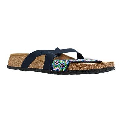 Papillio By Birkenstock COSMA Ladies Stretch Flat Sandals Aztec Blue ... 567c8447a09