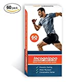 Runner's Goal Incognippo - Running Nip Guards by Box of 60 Anti Chafe Spot Bandages to Cover Your Nipples During Your Run - Adhesive Nip Covers That Look Like Nipples (Animated)