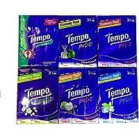 Tempo Pocket Tissues x 36pcs Jasmine Petit/Neutral / Applewood (Applewood)