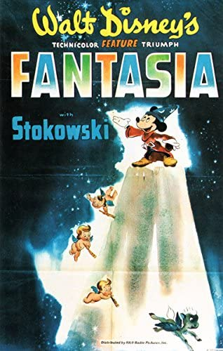 Amazon Com Walt Disney Fantasia Movie Poster Replica 13 X 19 Photo Print Posters Prints