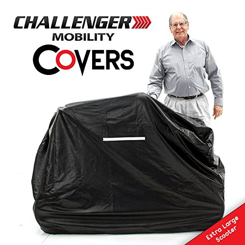 Challenger Mobility Weather Cover for Scooter, Heavy Duty Light Vinyl, ()