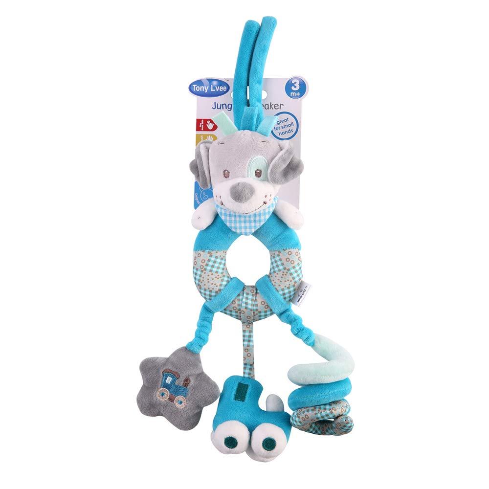 Baby Stroller Hanging Toy Toddler Pram Pushchair Car Seat Toys (Blue Dog) StillCool SF0010639B