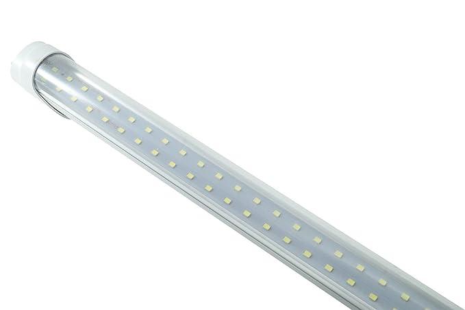Plafoniera Neon Led 60 Cm : Neon luce fredda w watt cm led smd t plafoniera trasprente
