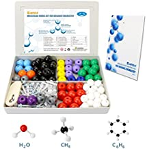 SIMPZIA Chemistry Molecular Model Kit 240 Pcs Molecular Modeling Student Kit for Organic and Inorganic Chemistry Science Study with 153 Bonds,86 Atoms, & a Removal Tool