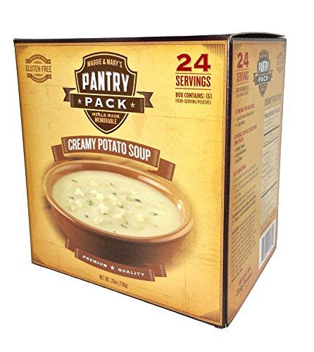 [Maggie & Mary's Premium Gluten Free Creamy Potato Soup - 24 Servings] (Creamy Potato Soup Recipe)