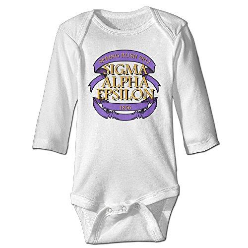 [Funny Vintage Unisex Rush Sigma Alpha Epsilon Baby Costume Unisex-Baby] (Hsm Costumes)