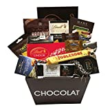 Ultimate Chocolate Gift Basket Featuring Lindt, Ghirardelli, Toblerone & More!