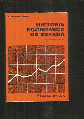 Historia economica de Espa?a: Amazon.es: VICENS VIVES, JAIME, VICENS VIVES, JAIME, VICENS VIVES, JAIME: Libros