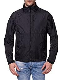 "<span class=""a-offscreen"">[Sponsored]</span>Men's Standard Water-Resistant Nylon Windbreaker Front-Zip up Jacket"