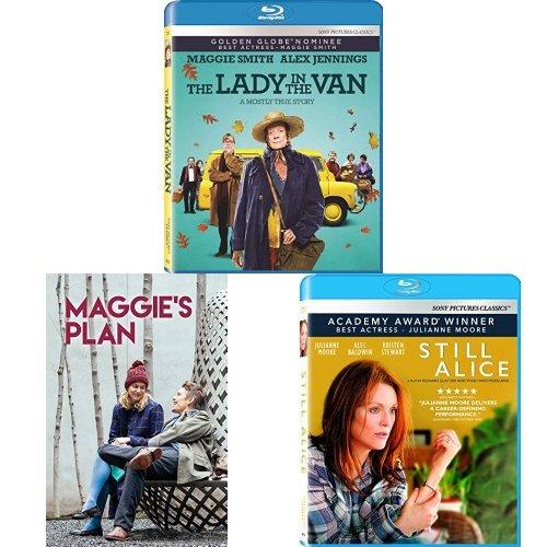 (Lady in the Van + Maggie's Plan + Still Alice)