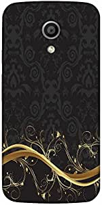 Snoogg Abstract Background Designer Protective Back Case Cover For Moto G 2Nd...