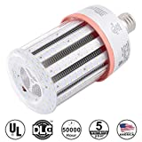 KAWELL 80W Daylight LED Corn Light Bulbs, Large Mogul E39 Base, 11600 Lumens, 6500K Cool White, Replacement for 300W to 400W Equivalent Metal Halide Bulb, HID, CFL, HPS, UL Listed DLC Certified