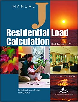 Worksheet Manual J Worksheet manual j residential load calculation 8th edition full hank full
