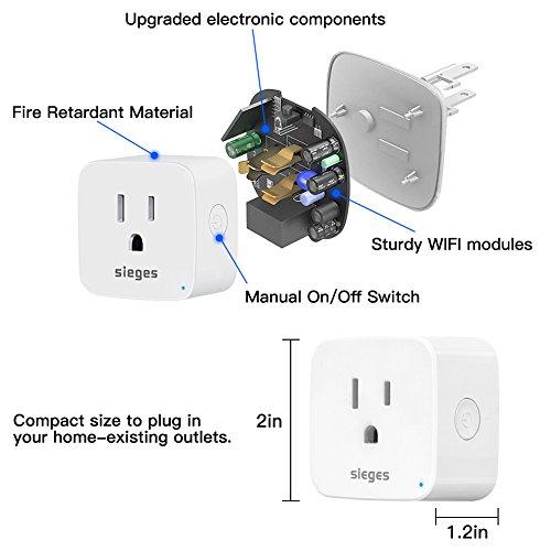 Sieges Wifi Smart Plug Outlet