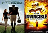 Disney True Story Invincible & The Blindside DVD Football Movie Double Feature Set