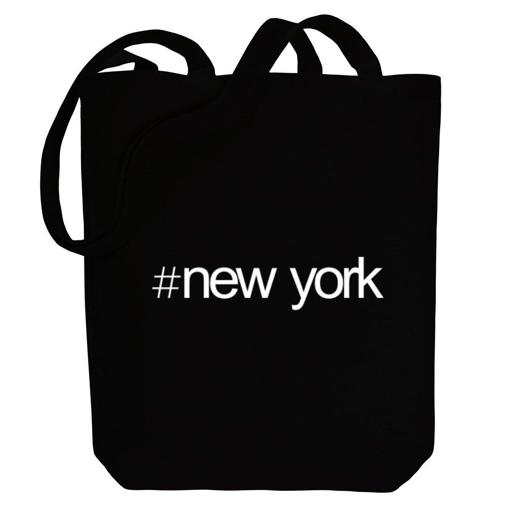 Idakoos Hashtag New York - Estados/Gentilicio - Bolsa de Lona: Amazon.es: Equipaje