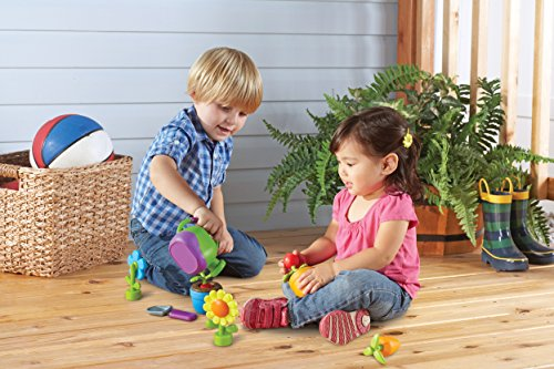 Learning Resources New Sprouts Grow It! Pretend Play, Exploration Play, 9 Pieces, Ages 2+