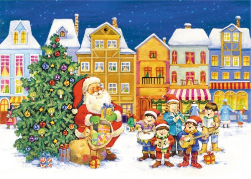 Vermont Christmas Company Playing for Santa Advent Calendar