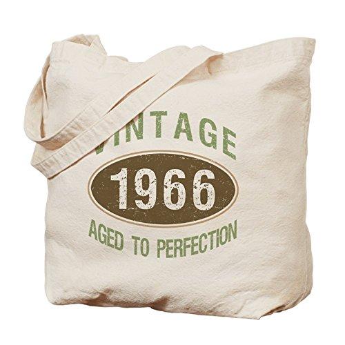 CafePress–Vintage 1966cumpleaños–Gamuza de bolsa de lona bolsa, bolsa de la compra