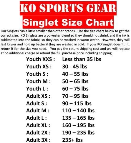 KO Sports Gear Pink CAMO Wrestling Singlet
