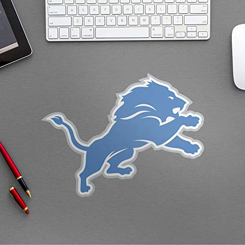 FATHEAD NFL Detroit Lions - Helmet Teammate- Officially Licensed Removable Wall Decal, Multicolor, Large