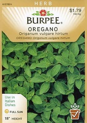 Burpee 56838 Herb Oregano Seed Packet