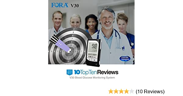 FORA V30a Blood Glucose Monitoring System