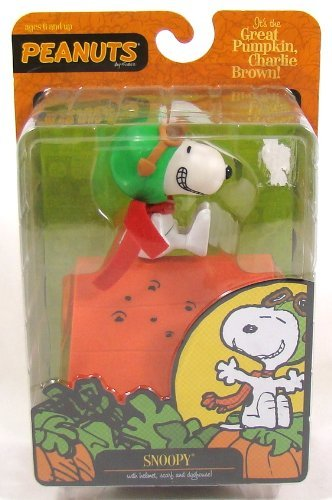 Round 2 Peanuts Halloween Snoopy 5 Poseable Figure-Flying -