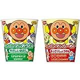 キャラクターカップめん 2種類 各7~8食入り 1箱:15食入り (アンパンマンらーめん しょうゆ味・アンパンマンおうどん