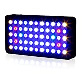 Lightimetunnel Dimmable LED Aquarium Light 165W Full Spectrum for LPS SPS Coral Reef Fish Tank