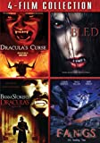 Four Film Collection (Dracula's Curse / Bled / Bram Stoker's Dracula's Guest / Fangs)