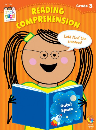 Reading Comprehension Stick Kids Workbook, Grade 3 (Stick Kids Workbooks)