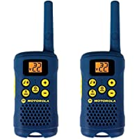 Motorola 2 Way 16 Mile Range 22 Channel Hiking Walkie Talkie Radios w/ Belt Clip