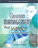 img - for Classroom Management That Works: Research-Based Strategies for Every Teacher: 1st (First) Edition book / textbook / text book