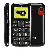Telefone Celular Dual SIM Barra, DL, YC110PRE - M, 24MB, 1.8, Preto