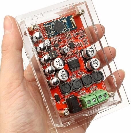 Amazon.com: INSMA Wireless Hifi Audio Receiver Digital Amplifier Board with Protective Case (TDA7492P): Electronics
