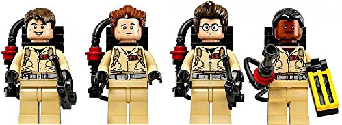 LEGO Ghostbusters Set of all 4 LOOSE Minifigures [Stanz, Venkman, Zeddemore & Spengler] by Cuusoo Ghostbusters