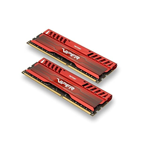 Patriot Extreme Performance Venom Red Viper 3 Series 16 DDR3 2400 Kit-PC3 19200-PV316G240C0KRD