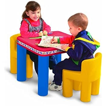 Amazon Com Little Tikes Classic Table And Chairs Set