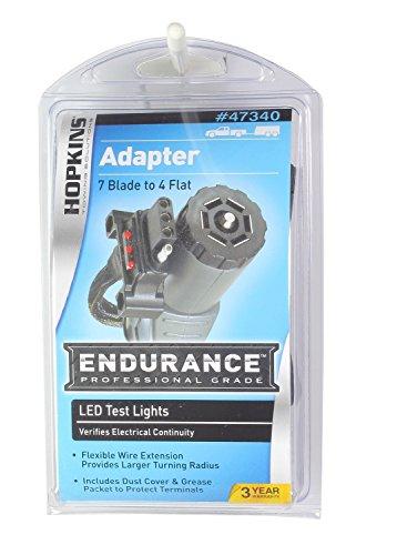 Hopkins 47340 Endurance 7 RV Blade to 4 Flat LED Flex